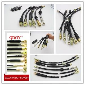China DOT SAE J1401 standard FMVSS 106 approvedHydraulic brake hose for hydraulic brake system of vehicles on sale