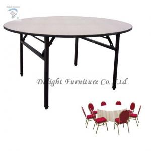 China DL-601  Round Folding Banquet Table/Hotel Furniture Set on sale