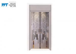 China Elevator Cabin Decoration with Luxury Elevator Door for Modern Hotel Elevator on sale