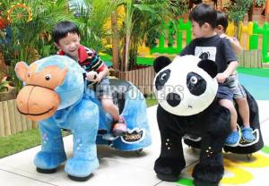 China Amusing Kids Amusement Ride , Battery Operated Ride On Animals 6 - 8 Hours on sale