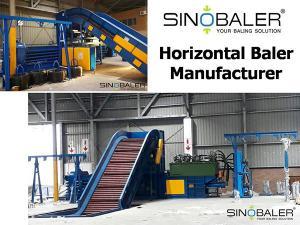 China Horizontal Baler Manufacturer on sale