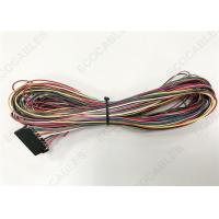 China Red Electrical Wire Harness For Aid Vehicles Taximeter With Samtec ISSM-10 on sale