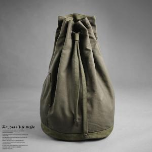 China Environmentally Friendly Waterproof Drawstring Bag Army green Medium Size on sale