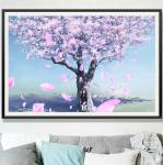DIY 60*40cm 5D Full Diamond Painting New style sitting room romantic diamond painting full of cherry tree