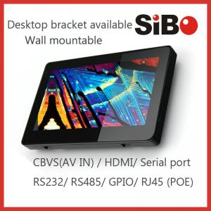 China SIBO Enhanced POE Touch Screen Panel PC For Wall Mount on sale