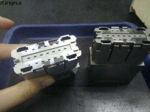 China Complex Connector Mold Parts , Cavity High Precision Mold Inserts Parts 2pcs on sale
