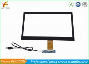 China 4096*4096 Projected Capacitive Touch Panel 14 Inch Ten Points With Usb Controller on sale