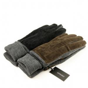 China men's pigsplit leather gloves / pig suede gloves on sale