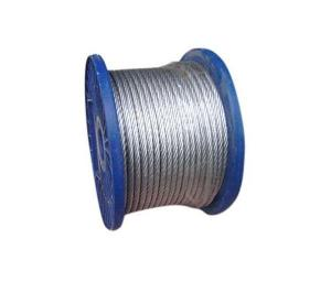 China galvanized steel wire rope on sale