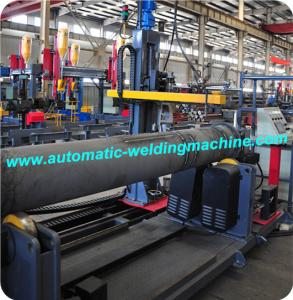 China Long Pipe Flange Automatic Welding Machine PLC Control CE ISO on sale