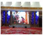 High Performance P6 Indoor LED Video Wall 3500cd/sqm Brightness Rental Design