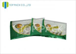 China Custom Print Laminated Foil Fish Lure Packaging / Shrimp Soft Baits Packaging on sale