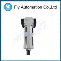 China White Air Preparation Units G1/2 Metal , Fully Automatic Air Filter Regulator on sale