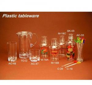 China Plastic Tableware on sale