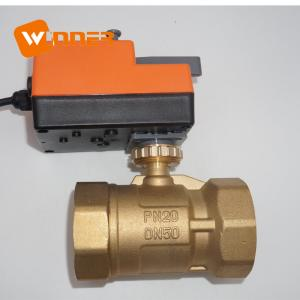 China Industrial Ball Treatment High Quality With Actuator Motor Operated Manual Override For Auto Flow Electric Water Shut Off Valve on sale
