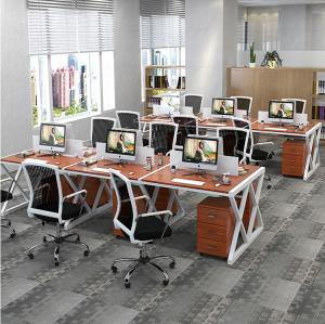 China Steel Office Furniture Partitions , E1 Grade Desktop Office Desk on sale