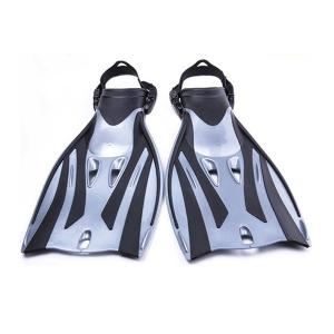 China Long Blade Scuba Diving Fins Travel Scuba Fins Waterproof Silicone Rubber Material on sale