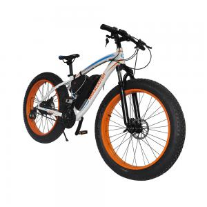 China Cheap 350W fat tire electric bike, 26inch alloy electric bicycles  with lithium battery and pedal assistance on sale