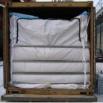 top zipper sea bulk container liners