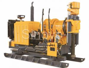China Vertical Shaft Drill Core Drilling Equipment XY-2B / Drilling Rig Machine Drill Depth 300m on sale