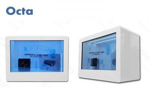 China WIFI / 3G 32 Inch LCD Transparent Screen Display For Shopping Mall 1920 x 1080 on sale
