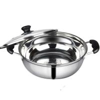 Kitchen Pots And Pans With Glass Lid , Food Grade Stainless Steel Pots And Pans