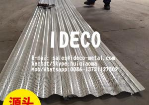 China Architectural Cladding/Siding/Roofing, Corrugated Perforated Metal Screens Wall Profile Panels & Sunscreens on sale