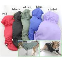 Large Dog Warm Winter Dog Coats and jackets Red , Black Color