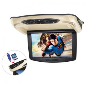 China OEM manufacturer 10.2 inch car roof mount dvd player with DVD TV AV roof dvd car Wholesale on sale