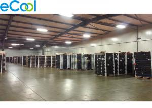 China Steel Structure Custom Cold Storage , Cold Room Warehouse With Sealing Dock on sale