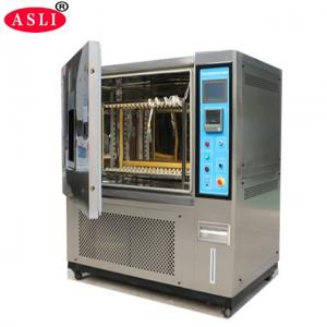 China Programmable Temperature & Humidity Test Chamber With Inner Door With Operation Hole on sale