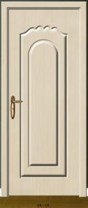 China European style interior painted WPC door on sale