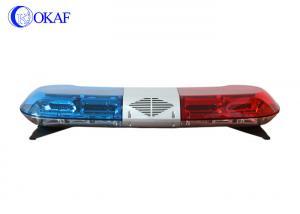 China LED Ambulance Red And Blue Led Emergency Lights BarsVehicle Warning 1.2m Length on sale