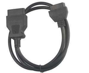 China eLM327 OBD2 16 pin Male to Female extension cable OBDIIF OBDIIM Full pinout obdii cable on sale