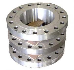 China GR5 Forged Titanium Flanges , Threaded Flange With ANSI B16.5 on sale