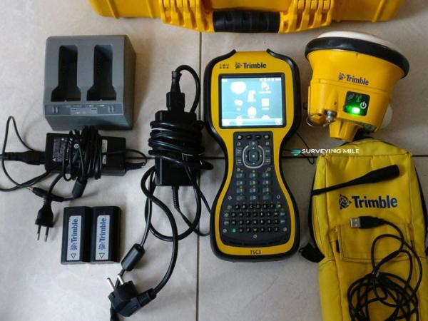 Trimble SPS985 Precise RTK GNSS receiver with TSC3