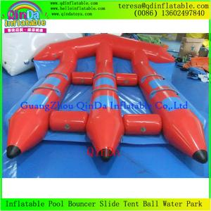 China Top Quality Water Sled  Fly Fish Boat  Adult Sports Game Flying Boat Tubes Surfing on sale