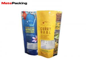 China Moisture Proof Microwavable Food Pouches Stand Up Packaging Bag Eco - Friendly on sale