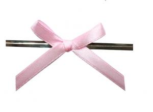 China Wire twist / impressive pre tied Decorative ribbon bow tie for wedding with grosgrain on sale