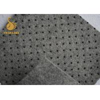 PVC Dot Coated Acupuncture Needle Punched Non Woven Fabric For Carpet Backing Cloth