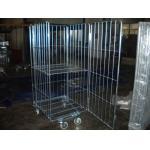 小売店のための 4 つの側面の保証倉庫の圧延の貯蔵容器/おり