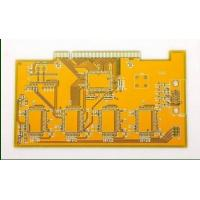 8 Layer Gold Finger PCB Board Yellow Solder Mask With White Screen