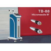 Salon Fractional RF Microneedle Machine For Skin Tightening / Whitening