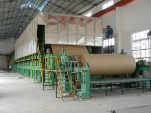 China Paper making machinery, 2400mm corrugated paper machine on sale