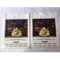 Merchandise Die Cut Handle Bags Custom Logo Printing Personalized Plastic Bags