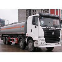 China Sinotruk HOWO 20000L-30000L fuel tank truck / oil tank vehicle fuel truck on sale