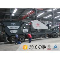 China Mining Mobile Jaw Crusher Small Scale Dual Power For Limestone Dolomite on sale