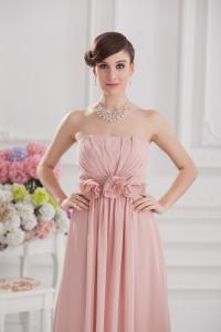 China 2013 Fashion Superb Strapless A Line Long Evening Party Dresses with Flower Design on sale