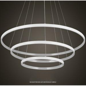 China DIY black ring modern led pendant lights led commercial chandelier pendant ceiling lights for hotel on sale