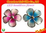 Pink / Blue Hot 55 * 20mm Plastic LED Flashing Hair Clips / for Party Headwear FA12111